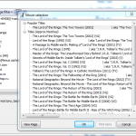 Fetching movie meta data with Ant movie collection manager using one of the 250 scripts available